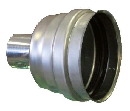 Stappacamino accessorio per la pulizia del ventilatore di espulsione dei fumi
