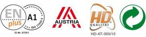 certificazioni pellet austriaco