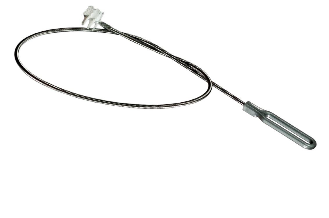 Sonda ultraflessibile con scovolo a molla flessibile in acciaio Ø 6 mm