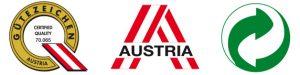 certificazioni bricchetto austriaco