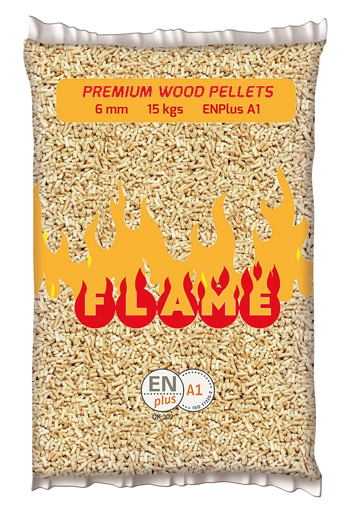pellet Flame sacco kg 15