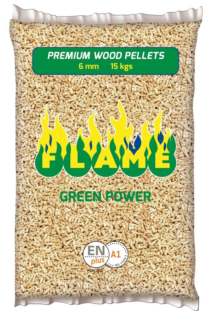 pellet Flame Green Power sacco kg 15