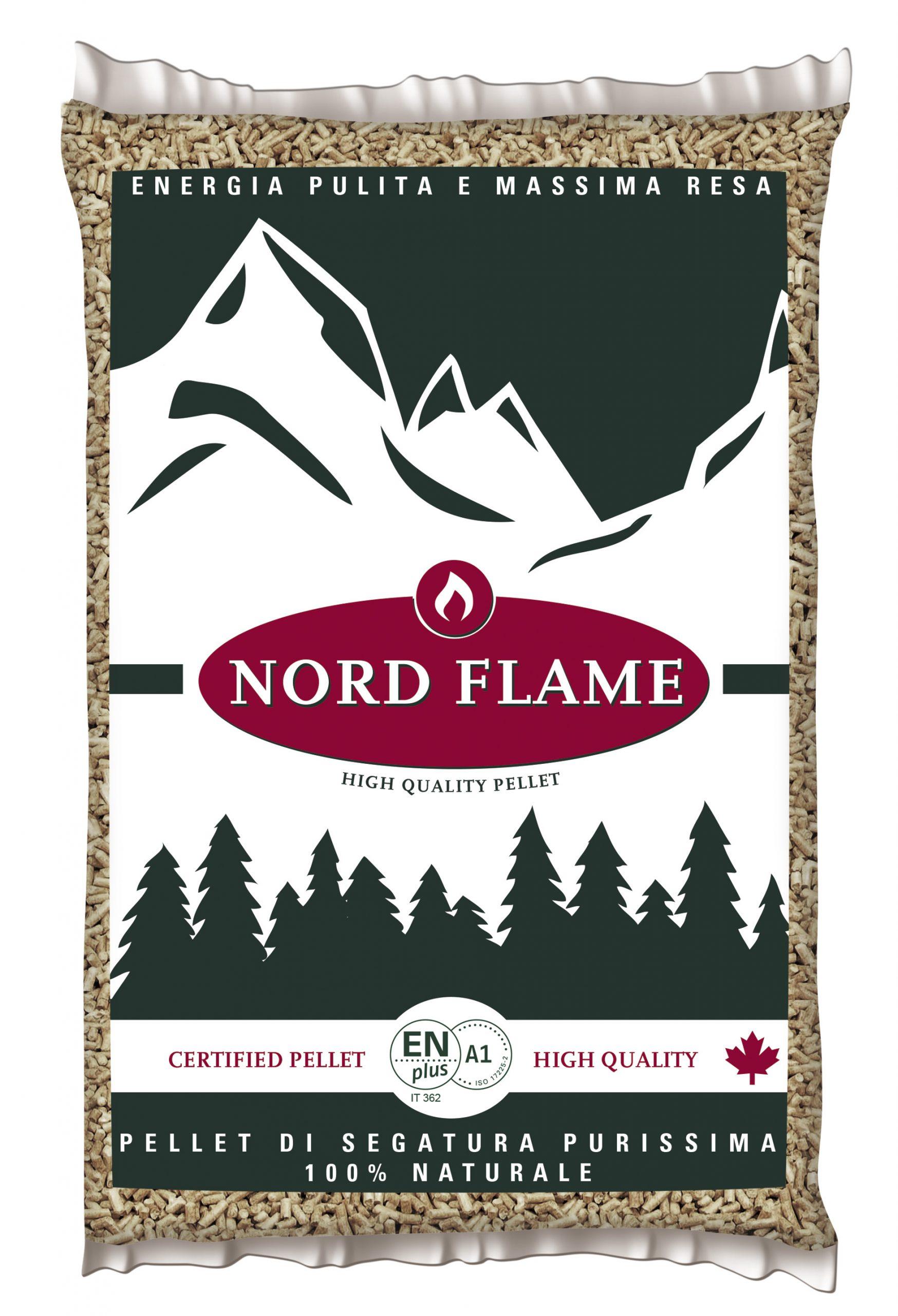 pellet nord flame sacco kg 15